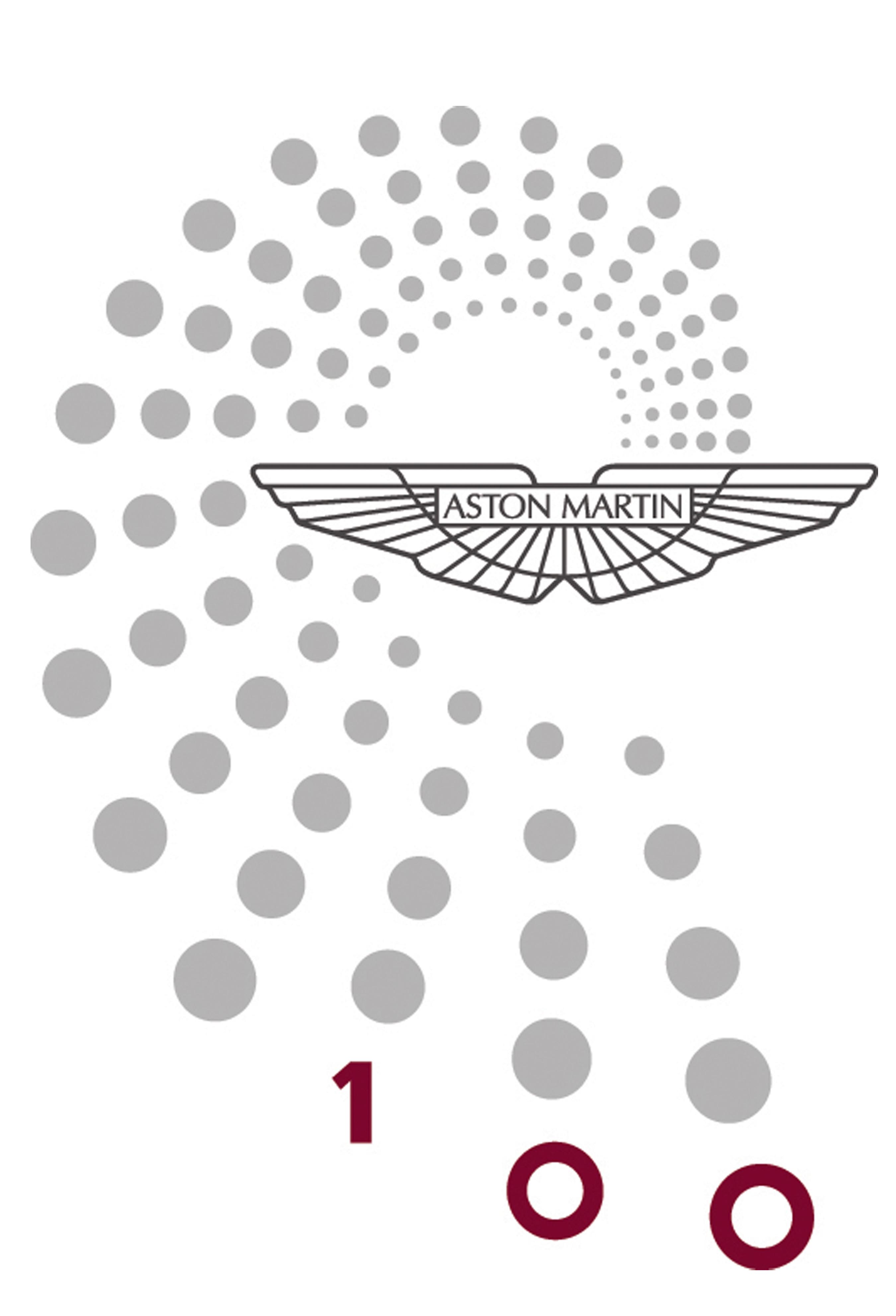 Logo centenario Aston Martin