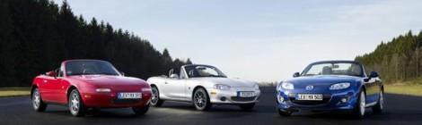 Mazda MX-5: sus primeros 25 años