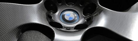 BMW estudia rines de fibra de carbón