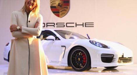 María Sharapova presenta su Porsche GTS
