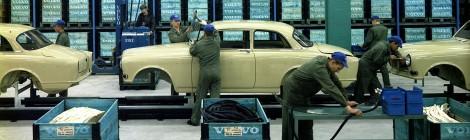 La planta Volvo de Torslanda, celebra 50 años