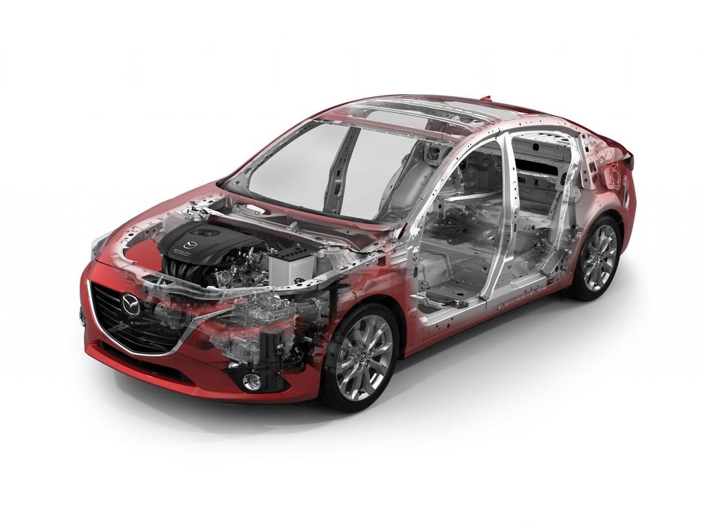 2014 Mazda3_SeeThruCar_GE_2.0L_6AT_Body_Chassis_iELOOP