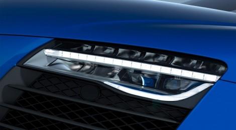 Audi R8 LMX: el primer automóvil de producción del mundo con faros láser