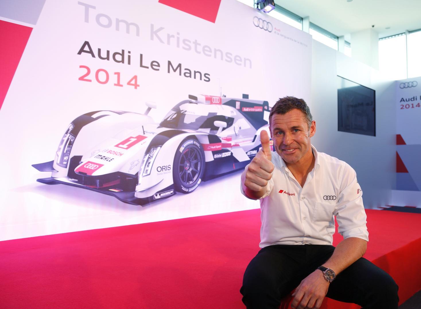Audi y Tom Kristensen, el binomio mas exitoso en las 24 Horas de Le Mans