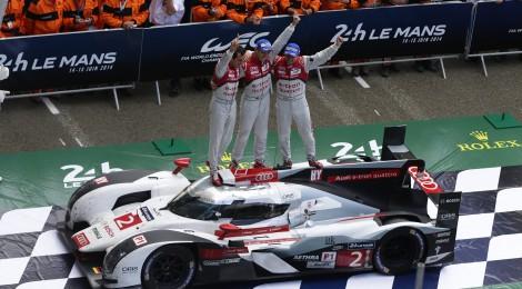 AUDI: gana por 13ª ocasión y dobletea en las  24 Horas de Le Mans