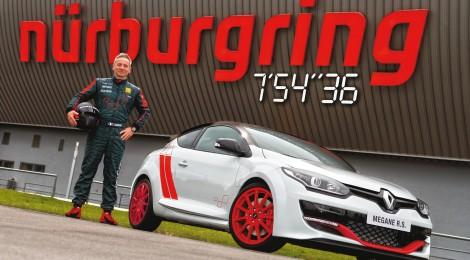 RENAULT: Récord de vuelta en Nürburgring con el nuevo Mégane R.S. 275 TROPHY-R