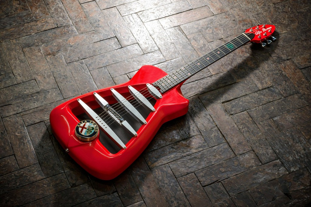 The Alfa Romeo by Harrison Custom Guitars 2