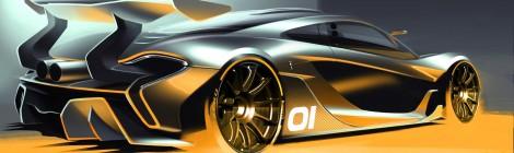 McLAREN: el concepto P1 GTR