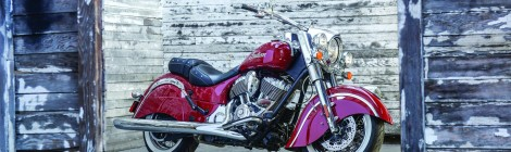INDIAN MOTORCYCLE: ANUNCIA SU GAMA CHIEF EN LA ICÓNICA PINTURA BICOLOR