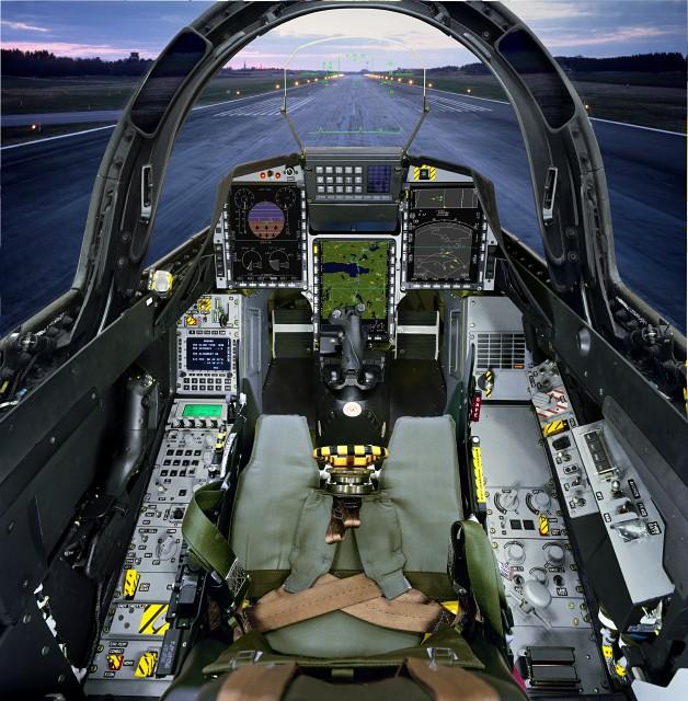 39D Cockpit Frontseat
