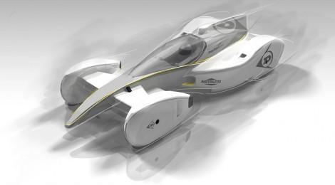 Dunlop: Así podrían ser los autos de carreras del futuro