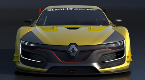 RENAULT SPORT R.S. 01. Un vehículo de carreras con diseño espectacular
