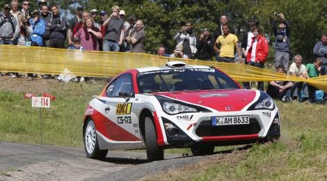 TMG: Positivo debut del Toyota GT86 CS-R3 en el WRC