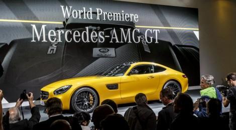 Mercedes-AMG GT: hace su debut en su casa, en Affalterbach