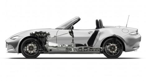 El nuevo Mazda MX-5 revela detalles de potencia