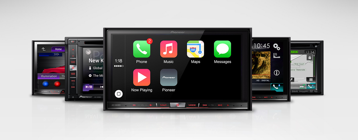 CarPlay en Pioneer 01