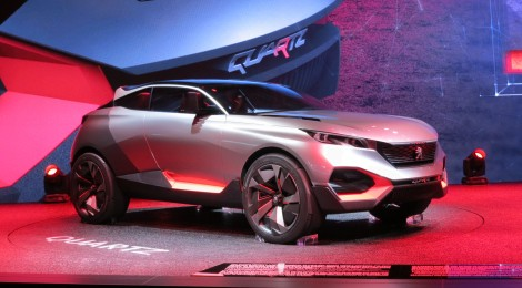 Peugeot presenta su concepto Quartz en París