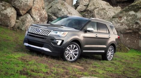 Los detalles de la nueva Ford Explorer 2016