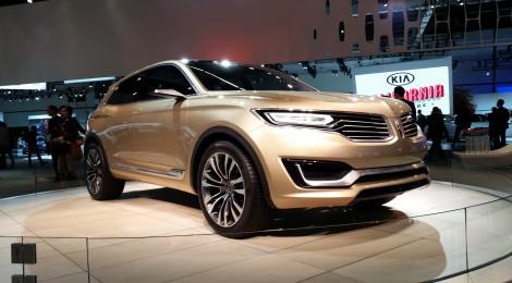 La renovada Lincoln MKX estará en México para 2015