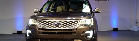 Así es la nueva Ford Explorer