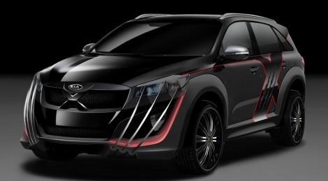 Kia X-Car, el Sorento con garras de Adamantium