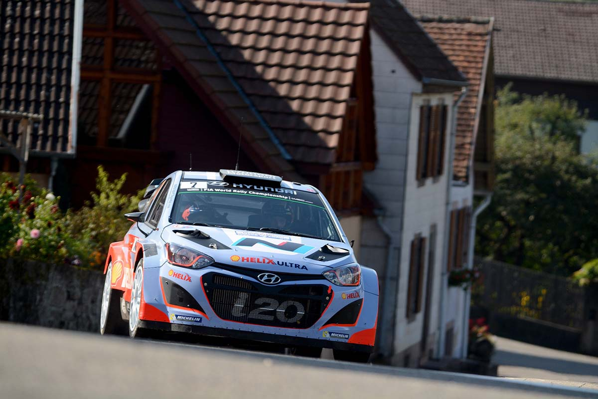 2014 World Rally Championship / Round 11 /  Rallye de France //