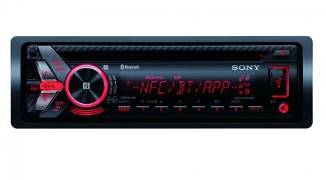 Sony: nuevo autoestéreo Xplod con tecnología NFC MEX-N5050BT