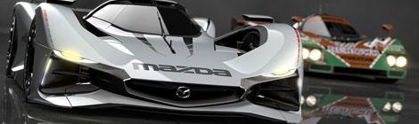 Mazda LM55 VISION Gran Turismo, de ensueño