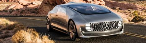 Mercedes-Benz F 015 el futuro autónomo