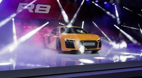 Audi R8 en Ginebra: el más rápido de la historia