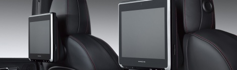 Porsche Rear Seat Entertainment ahora para Cayenne, Macan y Panamera