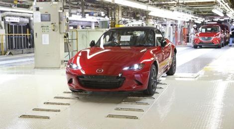 Inicia la producción del nuevo Mazda MX-5