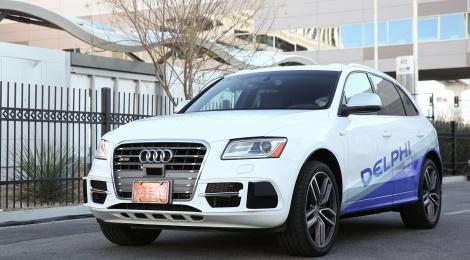 De California a Nueva York en un vehículo automatizado de Delphi