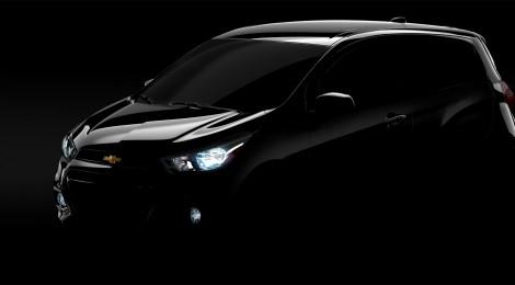 Chevrolet Spark 2016 debutará en el Auto Show de Nueva York