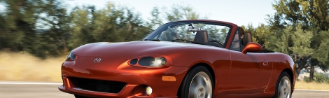 Mazda MX-5 2016 MIATA en exclusiva para Xbox One