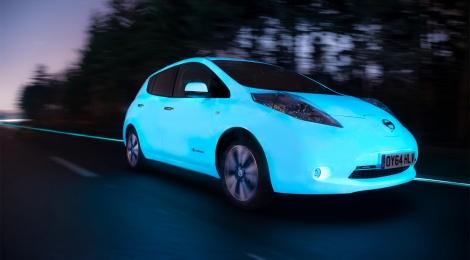 Nissan LEAF: brillando en la oscuridad