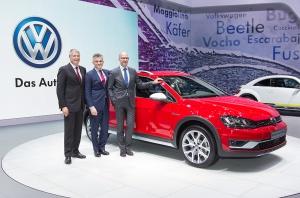 New York International Auto Show 2015 Volkswagen Pressekonferenz