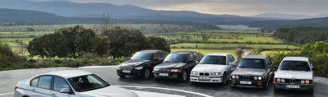 BMW Serie 3, cuatro décadas de tradición e innovación