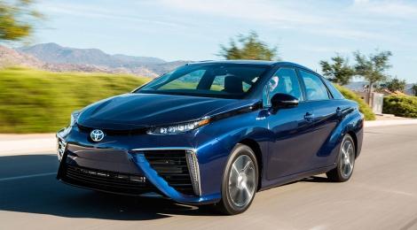 Inicia en Estados Unidos la venta del Toyota Mirai