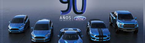 9 décadas de Ford en México