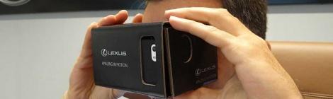 Lexus RC F, la posibilidad de manejarlo en realidad virtual