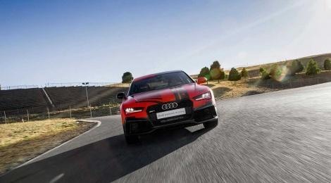 Audi RS7 piloted driving concept, más rápido que un piloto