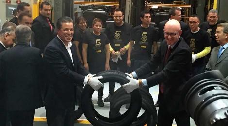 Pirelli de México llega a las 5 millones de unidades