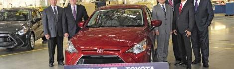Inicia producción en México del Toyota Yaris R