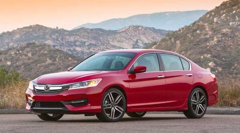 Honda Accord 2016 presenta nuevo diseño y más tecnología