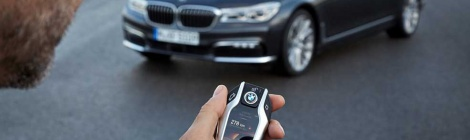 Nuevo BMW Serie 7 ahora con estacionamiento remoto
