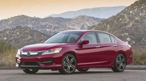 Honda Accord 2016, nuevo diseño y equipamiento