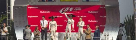 Nico Rosberg triunfa en el Gran Premio de México