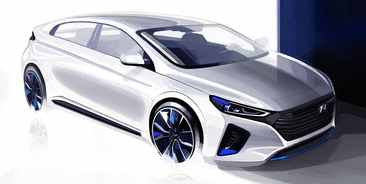 Hyundai Motor Reveals Interior and Exterior Renderings of New IONIQ_exterior