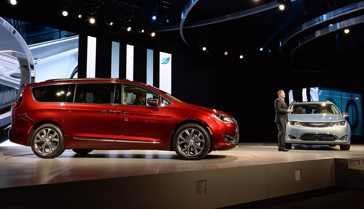 All-New 2017 Chrysler Pacifica World Debut